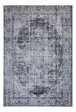 Diamond Rug in Silver