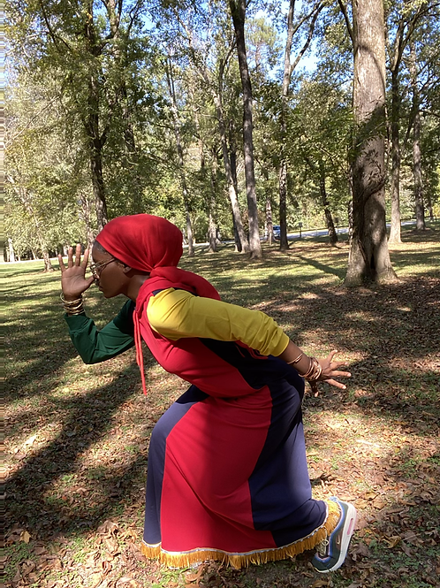 In Living Color Workout/Everyday hooded dress