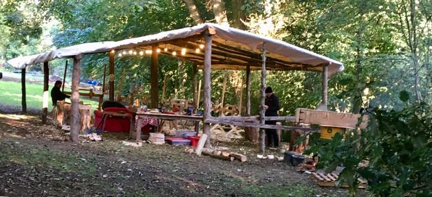 Outdoor workshop