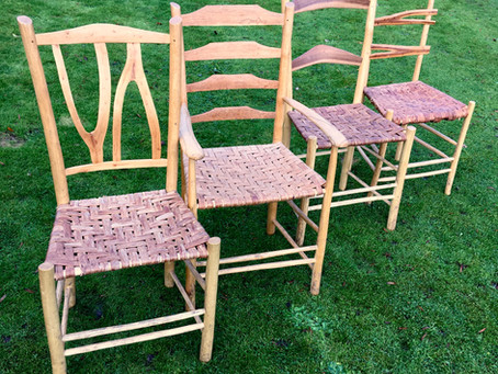 Why I was so inspired by making greenwood chairs