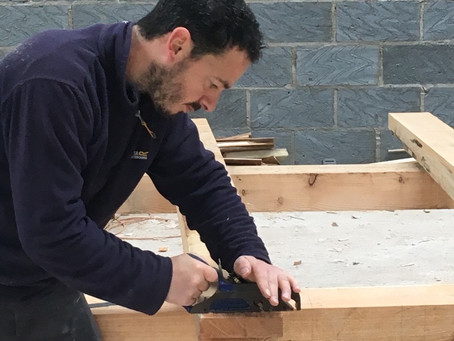 Day 3 - Timber framing course
