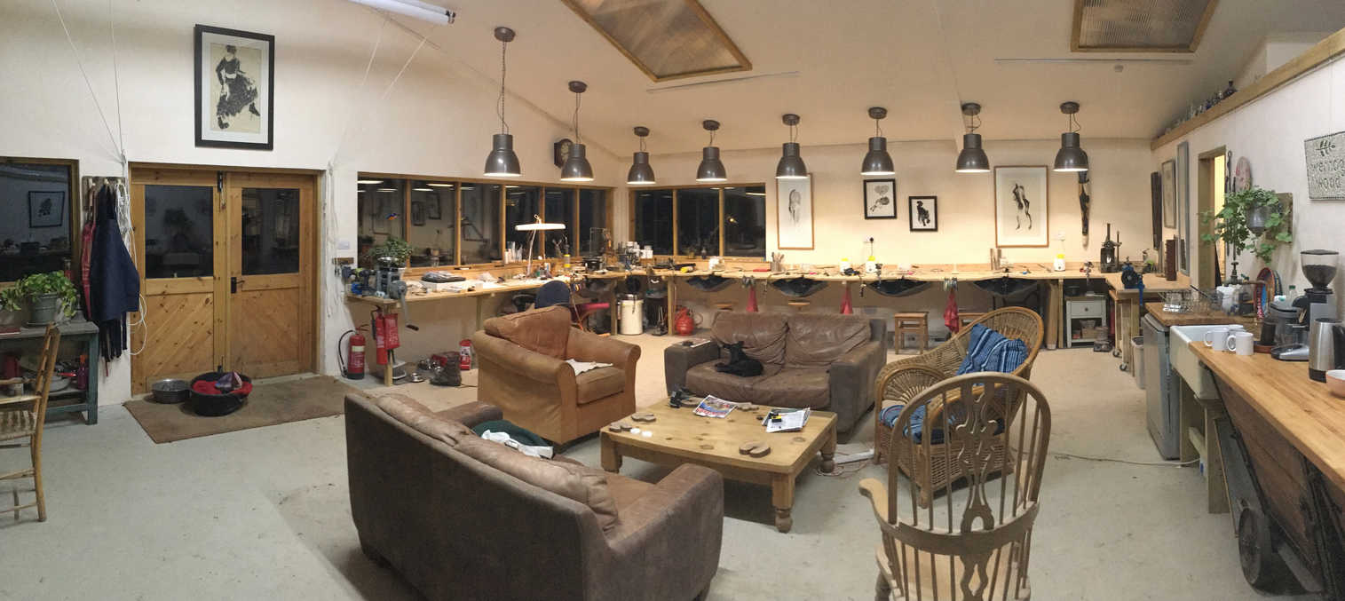 Wernog Wood workshop