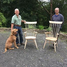 Ben Willis Windsor chair making