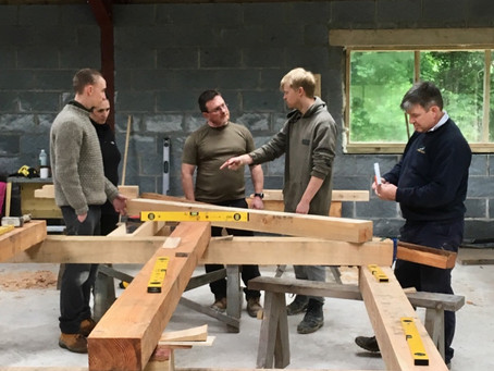 Day 4 - Timber framing course