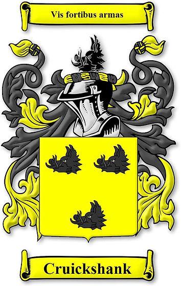 Cruickshank Coat of Arms