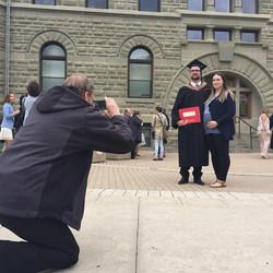 Gregory's graduation, June 2017