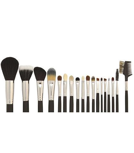 18 Pc Brush Set