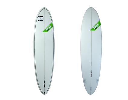 "Surf Blackwings 7'2"" Egg Funboard Cristal Clear"