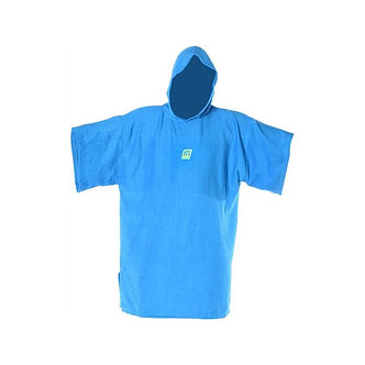 Poncho Madness Kids Blue