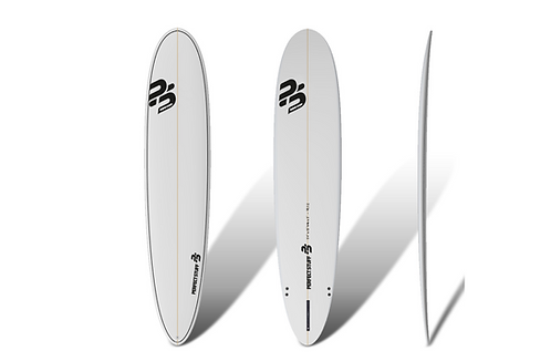 "Surf Perfect Stuff 9'1"" Longboard Clear"