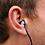 Thumbnail: Bouchons d'Oreilles - Northcore Surfers Ear Plugs V2