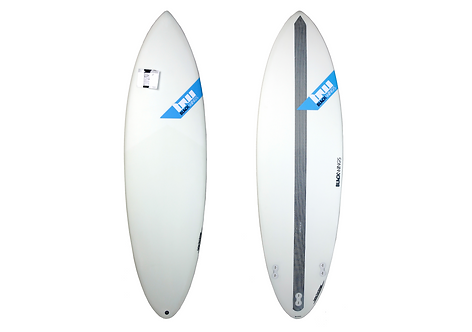 "Surf Blackwings 6'4"" Shortboard Raven"