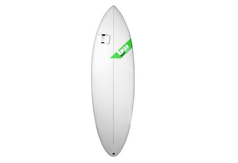 """Planche de Surf Blackwings5'8"""" The Dive Honey Comb"""