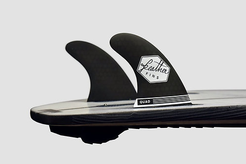 Feather Fins Rear Series FCS Black