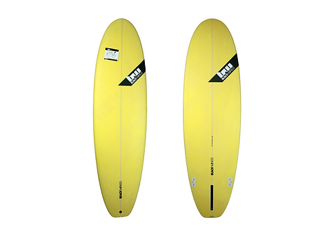 "Surf Blackwings 6'4"" Fat Wonbat Jaune"