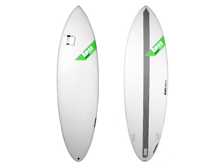 "Surf Blackwings 6'0"" Shortboard Raven"