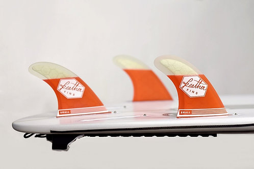 Feather Fins F2 FCS Red-White