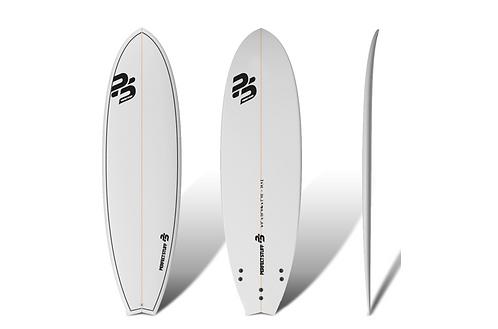 """Surf Perfect Stuff 6'0""""Fish Clear"""