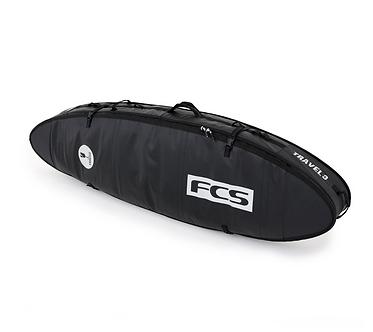 FCS Travel 3 All Purpose 6'3 à 7'0 - Black / Grey