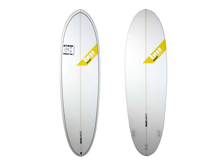 "Surf Blackwings 6'10"" Egg Potato Cristal Clear"