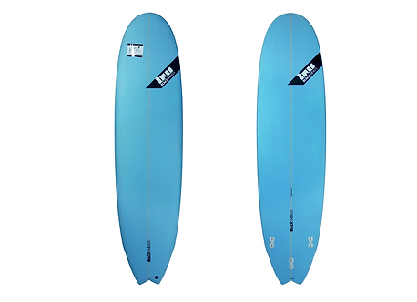 "Surf Blackwings 7'4"" Fish 7Up Bleu"