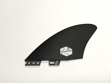Feather Fins Twin FCS II Black
