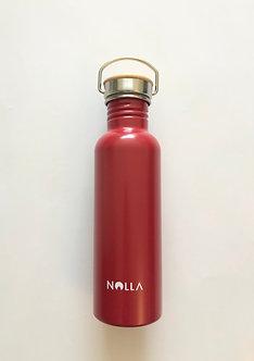 Gourde Inox Nolla Rouge 750 ml