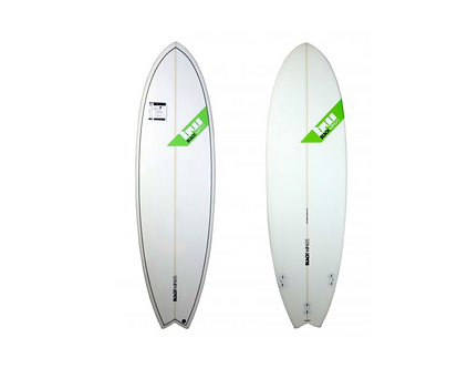 """Surf Blackwings 6'0""""Fish Fire Honey Comb"""