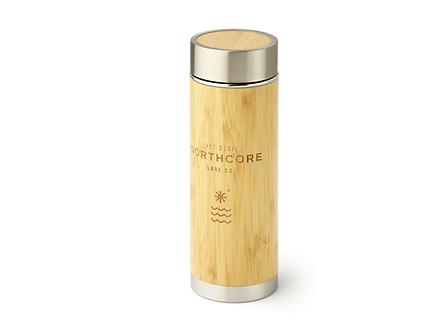 Gourde Thermos Inox Bambou Northcore