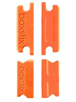 Insert Box FCS II Double Tab x2 Orange