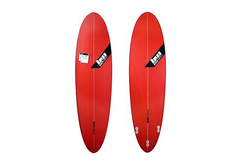 """Surf Blackwings 6'8""""Egg Wave Rocket Rouge"""