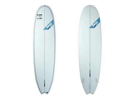 "Surf Blackwings 7'4"" Fish 7Up Cristal Clear"