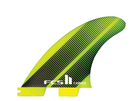 FCS II Neo Glass Carver Large Thruster set