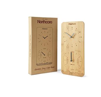 Horloge Heure et Marée en Bambou