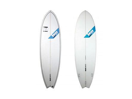 "Surf Blackwings 6'4"" Fish Pranha Honey Comb"