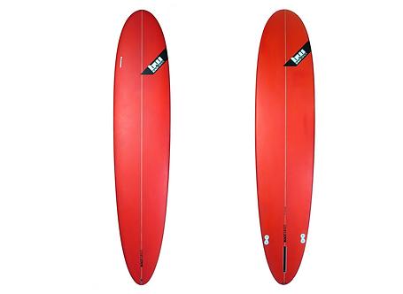"""Surf Blackwings 9'1"""" Longboard Alround Rouge"""