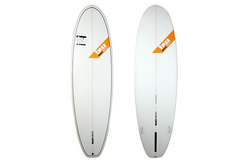 "Surf Blackwings 6'4""Fat Wonbat Cristal Clear"