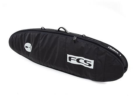 FCS Travel 1 Funboard 5'9 à 7'6 - Black / Grey