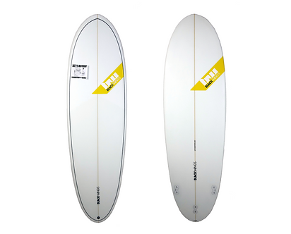 "Surf Blackwings 6'6"" Egg Cobra Cristal Clear"