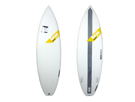 "Surf Blackwings 5'5"" Shortboard Grommet"