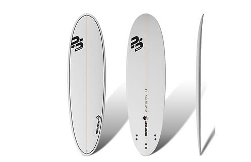 "Surf Perfect Stuff 6'6""Egg Clear"