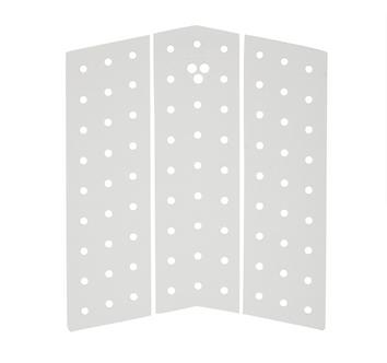 Gorilla Front Pad Skinny Mid Deck White