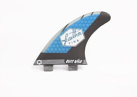 Feather Fins Signature Series Luis Diaz Blue / Black
