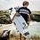 Thumbnail: Poncho Northcore Stripey Beach Basha  - Bleu