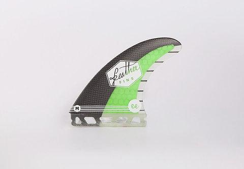 Feather Fins Ethan Egiguren Single Tab Black / Green