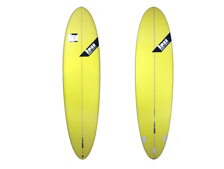 "Surf Blackwings 7'2"" Egg Funboard Jaune"