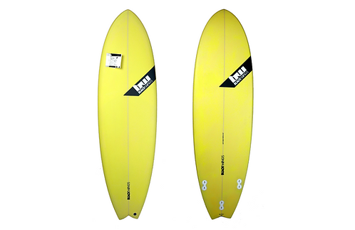 "Surf Blackwings 6'0"" Fish Fire Jaune"