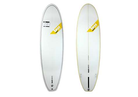 "Surf Blackwings 6'4"" Fat Wombat Honey Comb"