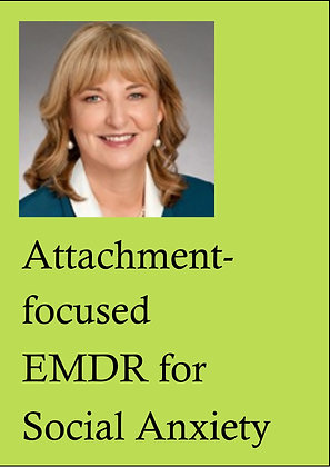 EMDR Demonstrations DVD, LPE8 - Attachment-focused