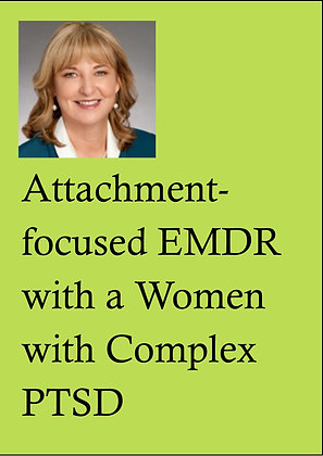 EMDR Demonstrations DVD, LPE - 1292 Attachment-foc